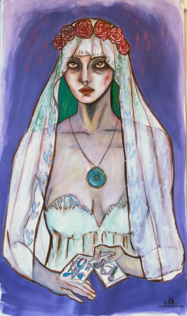 peinture Tarot