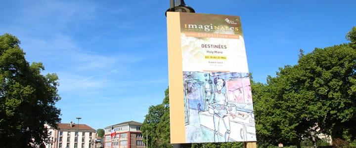 Exposition aux Imaginales 2017