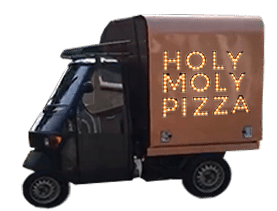 Piaggio Ape - Holy Moly Pizza