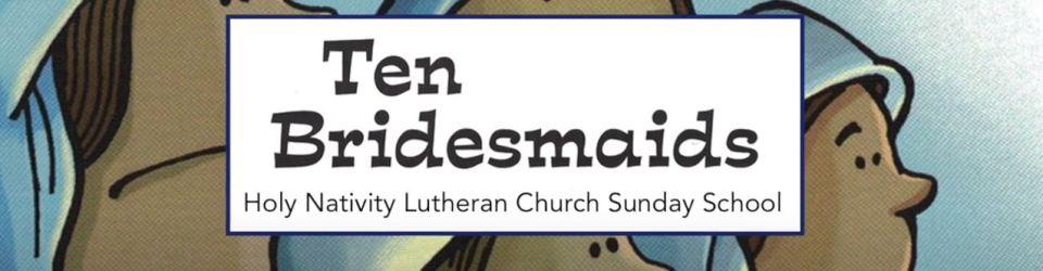 Sunday School lesson Nov 8th