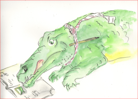 Concentrating Crocodile: I join in and concentrate on my learning.