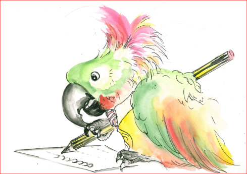 Persevering Parrot: I keep trying, even when something is a challenge.