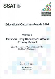 SSAT Educational Outcomes Award