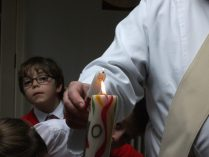 baptismal candle