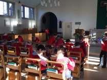 Writing about prayer symbols