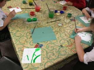 Painting Watercolour poppies (3)