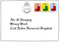 Jolly Postman Letter 4