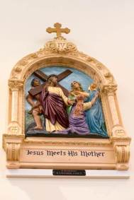 4th Station: Jesus meets his mother