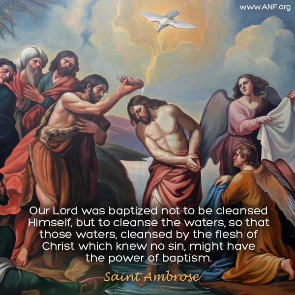 BAPTISM OF THE LORD: YOU ARE MY BELOVED CHILD