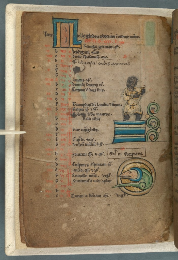 TCD MS 90 f3v © The Board of Trinity College Dublin