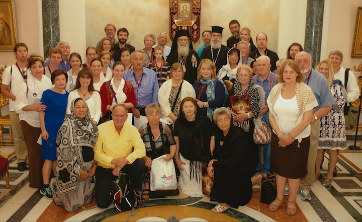 Group with Patriarch Theophilos-small