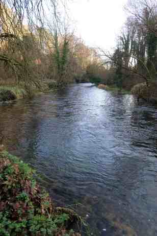 The Awbeg river