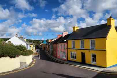 Eyeries, probably the most colourful village in Ireland!