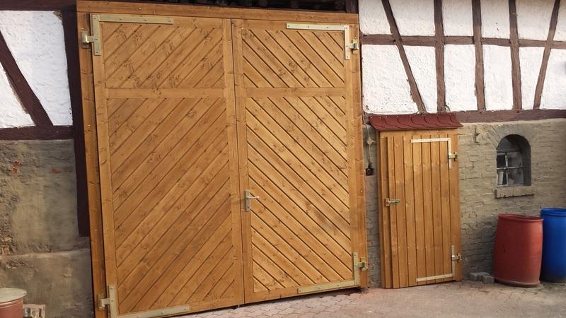 Gut gemocht Holztor Bauen Scheune | Holztor Bauen YQ29
