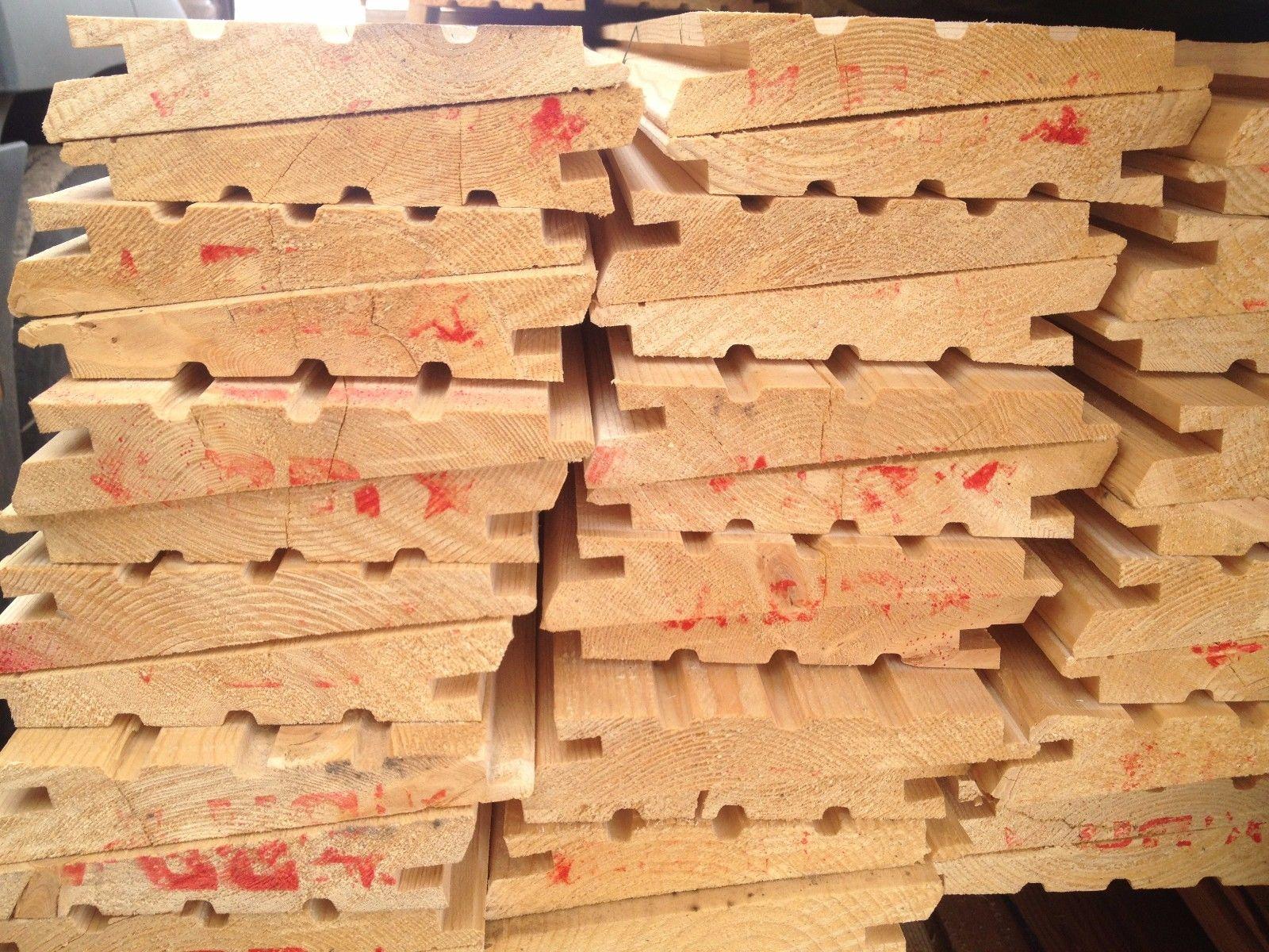 Keilstülpschalung - Holzhandel24.Com