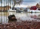 Boats Port River Ship High Water  - BiggiBe / Pixabay