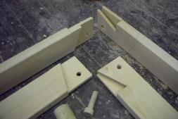 3,2 cm x 2,6 cm Rahmen - Linde