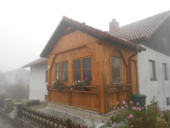 Überbau des Holzbunker, gestaltet / bau GB