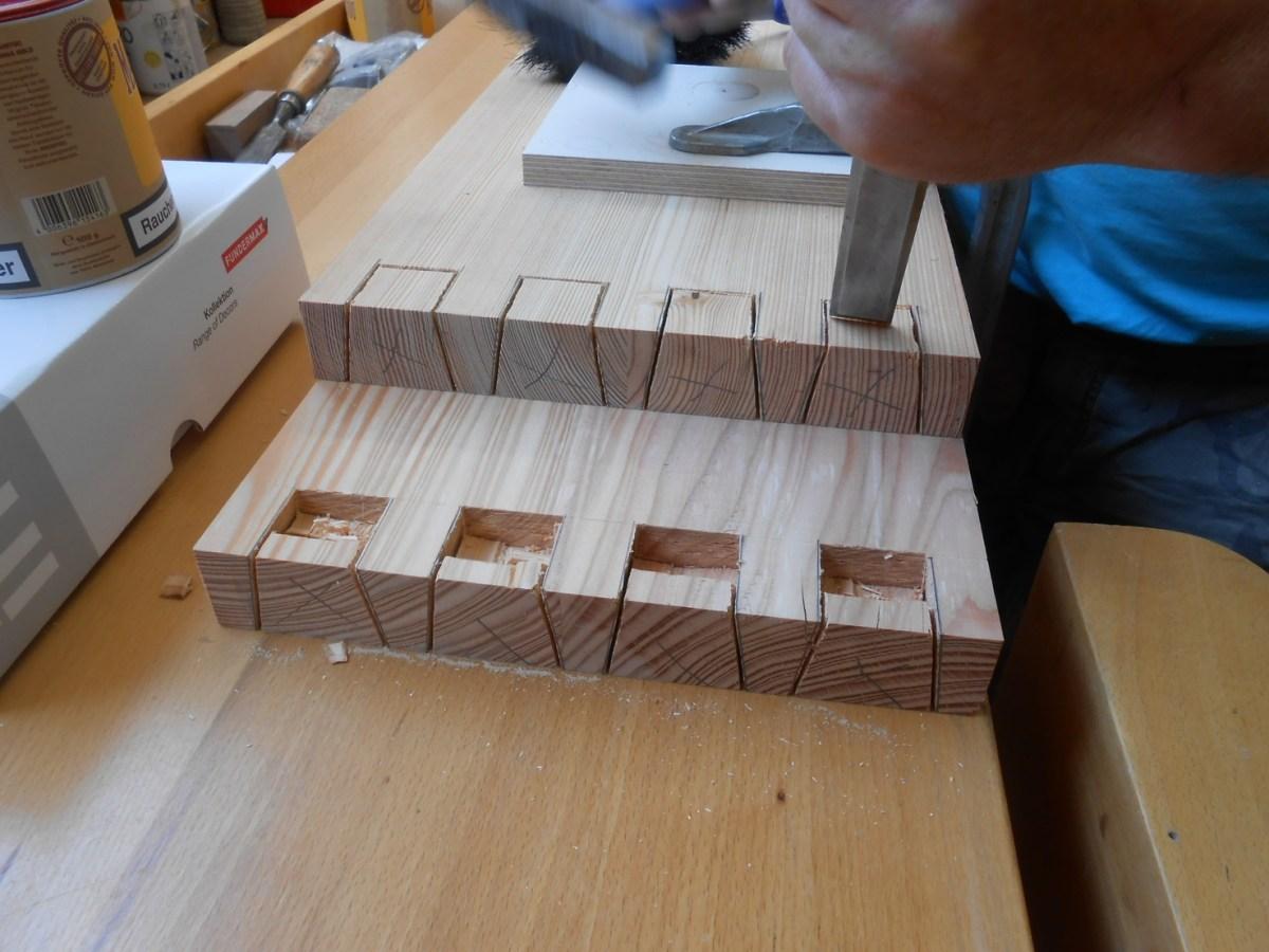 treppengelander holz aufarbeiten - terrasseenbois, Moderne