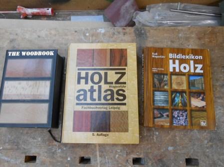 Bücher - Holz erkennung
