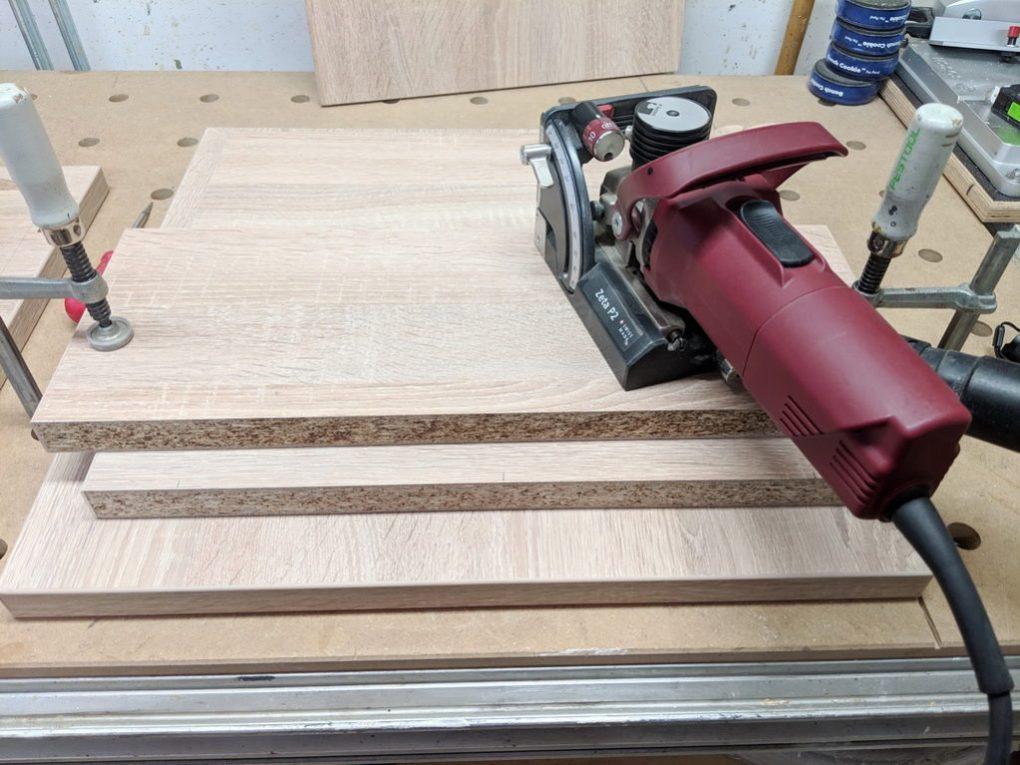 Hocker mit Schublade selber bauen