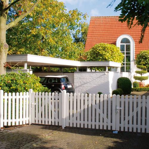 Zune Gartenzune und Sichtschutzzune  Holz Ziller