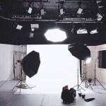 本格的な写真撮影スタジオ