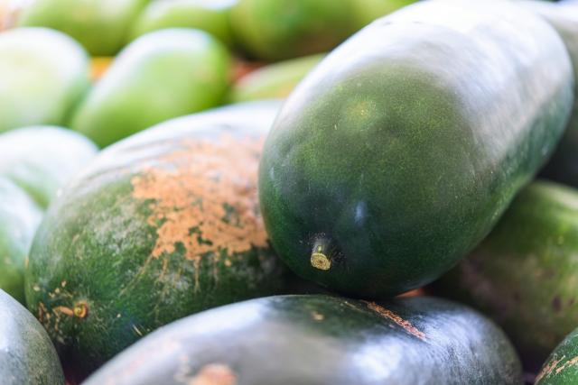緑色の冬瓜