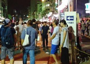 大塚阿波踊りは歩行者一方通行