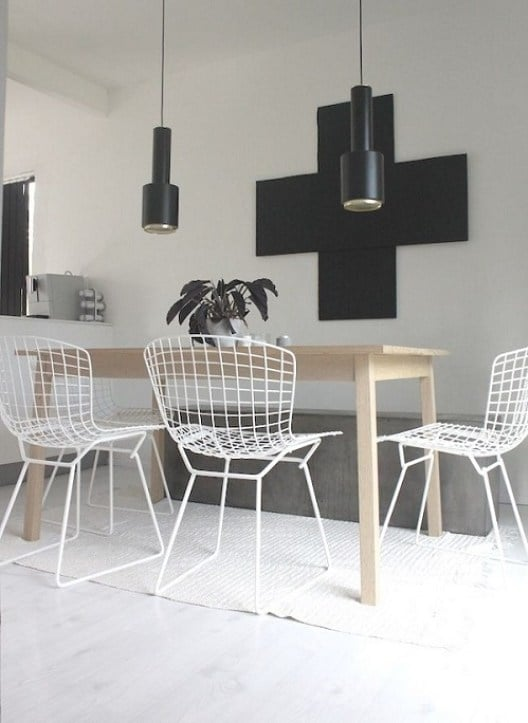 Bertoia Dining Chair  Homage