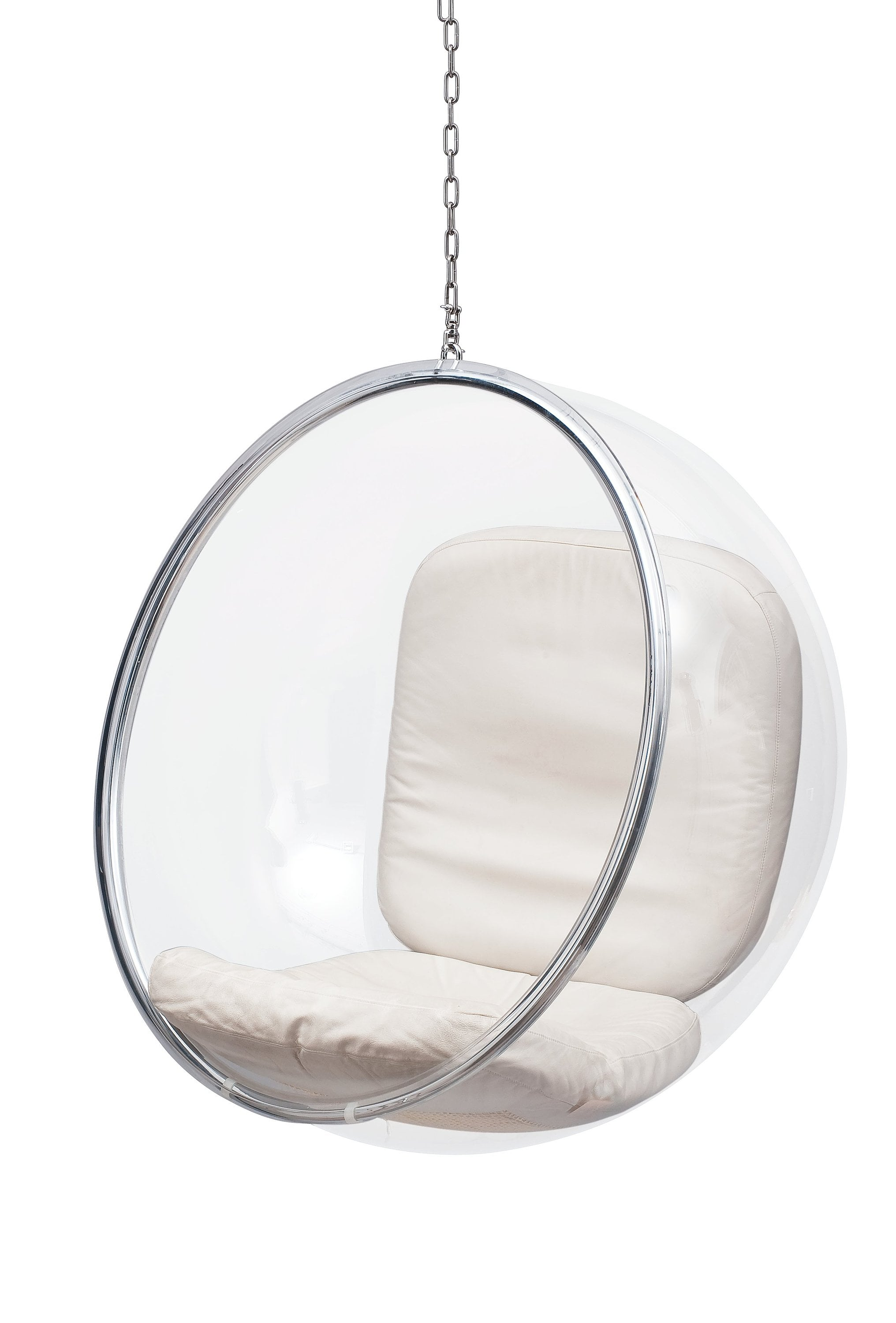 hanging chair clear leather recliner chairs on sale bubble homage