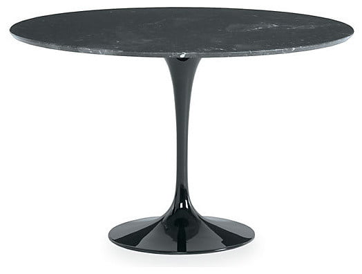 Tulip 900mm Marble Dining Table Homage