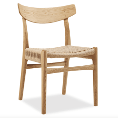 Dining Chairs Nz Double Pressed Back Oak Ch23 Chair Homage