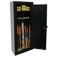 First Watch 8 Gun Steel Security Cabinet - Homak Manufacturing