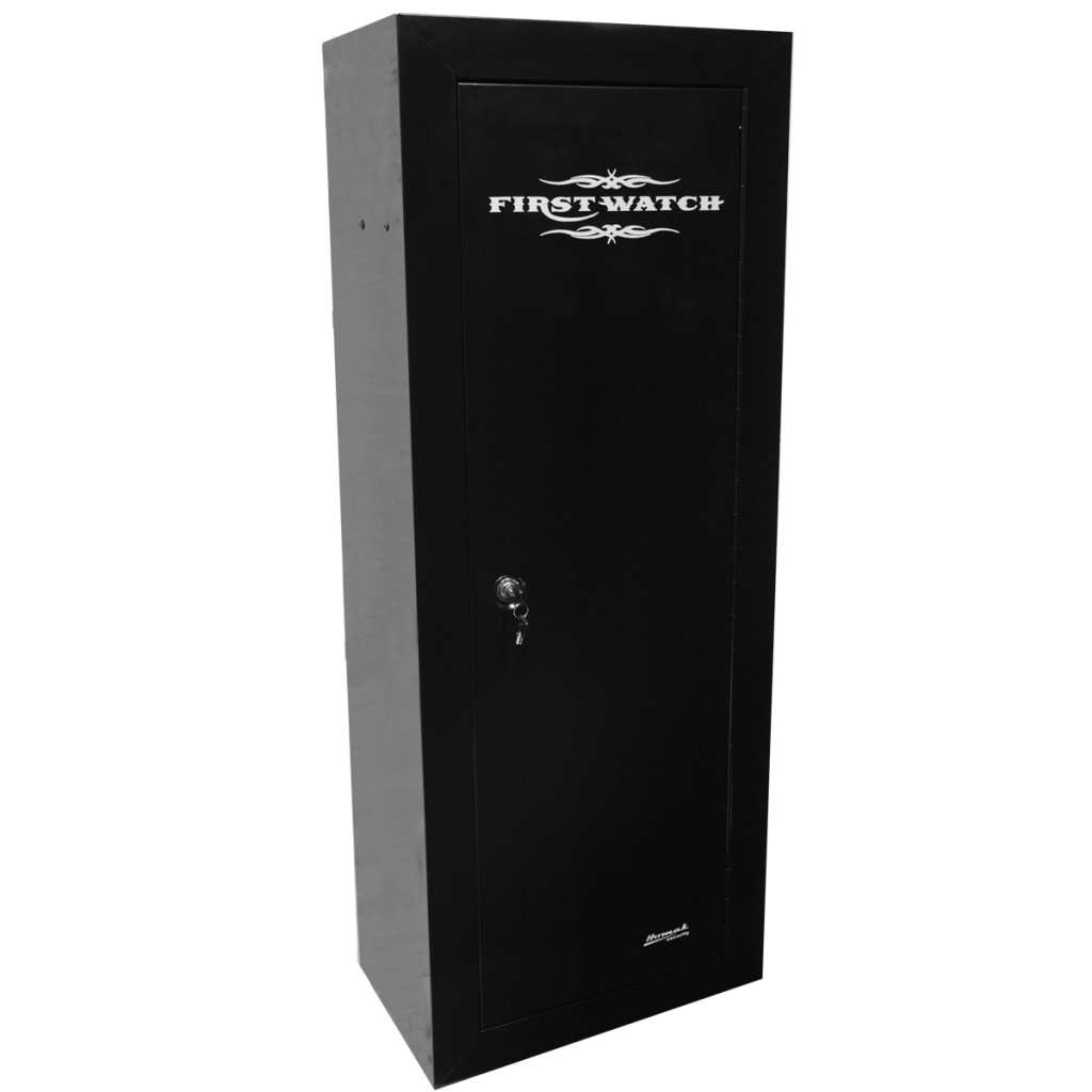 First Watch 14 Gun Steel Security Cabinet  Gun Safes  Homak