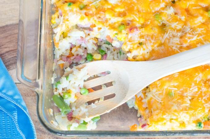 Ham and Rice Casserole | Homan at Home