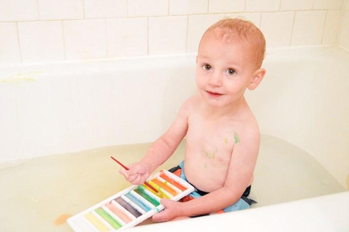 No Mess Bathtub Paints | Homan at Home