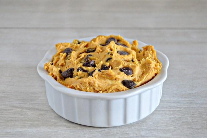 Pumpkin Spice Eggless Cookie Dough| Homan at Home