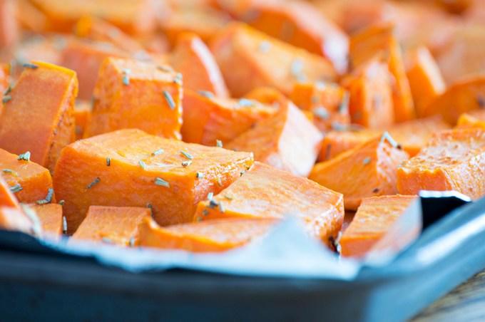 Roasted Sweet Potatoes | Homan at Home