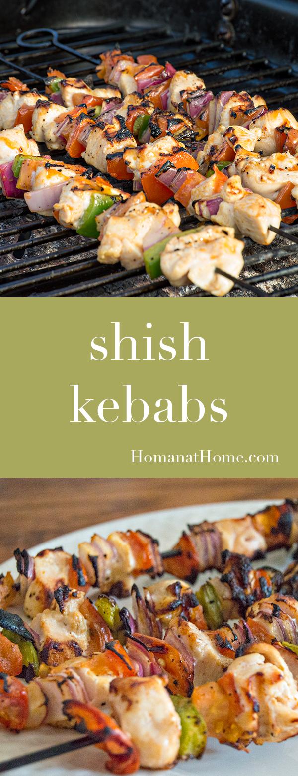 Shish Kebabs | Homan at Home