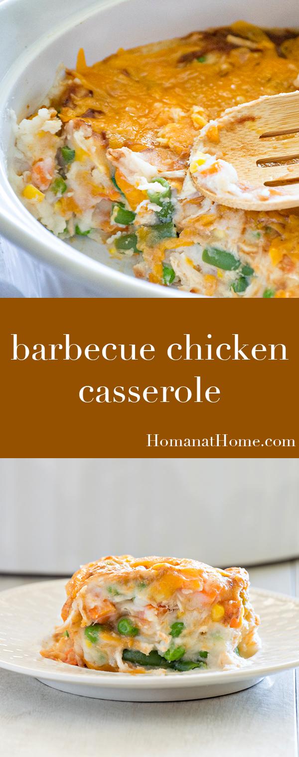 Barbecue Chicken Casserole | Homan at Home