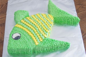 Fish Cut-Up Cake   Homan at Home