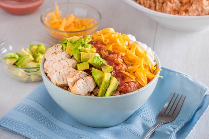 Chicken Fiesta Bowl   Homan at Home