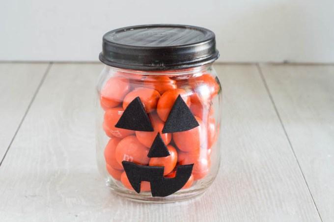 Halloween Candy Jars   Homan at Home