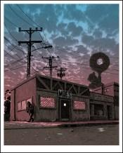 Bar de Moe, por Tim Doyle