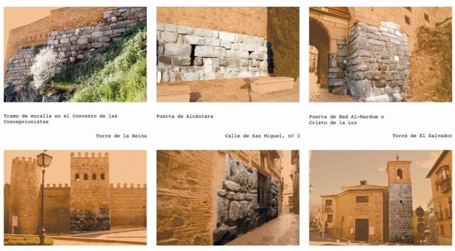 los muros islámicos de la ciudad de toledo