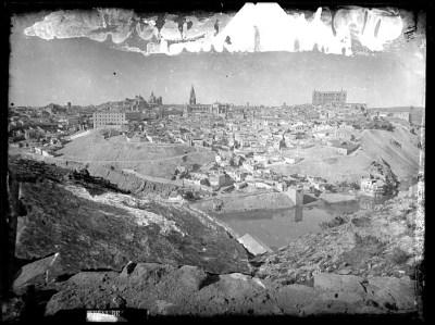 1CA-0426-VI Vista panorámica de Toledo desde el sureste