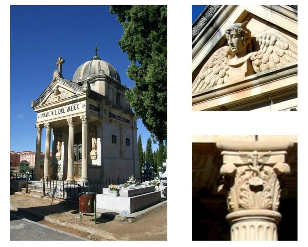 arquitectura funeraria cementerio municipal de Toledo A de Mingo hombredepalo05