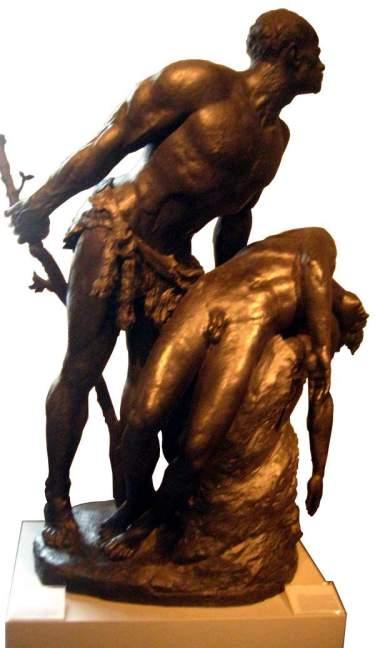 Figura 04. La muerte de Abel, bronce del escultor alemán Reinhold Begas. 1897