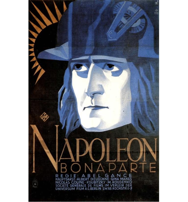 Abel Gance - Portada - Napoleón